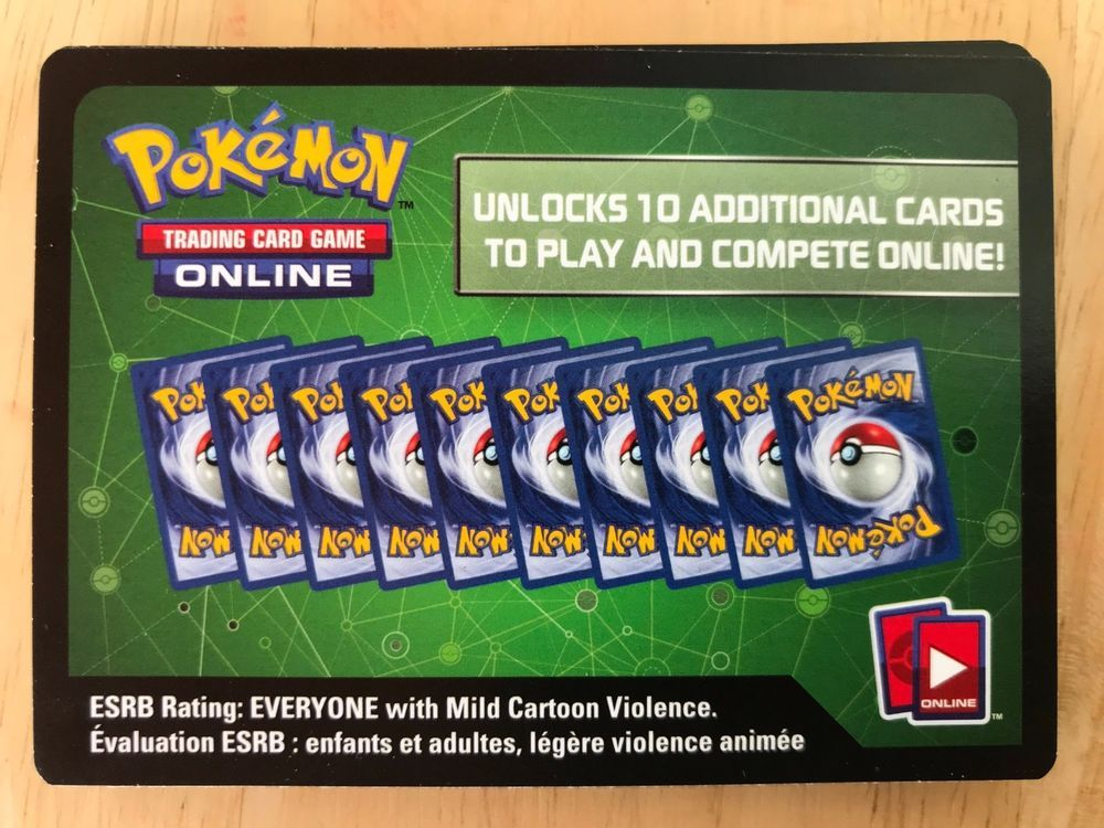 Sun /& Moon Pokemon Codes Online TCGO Booster TCG Codes Email Delivery XY