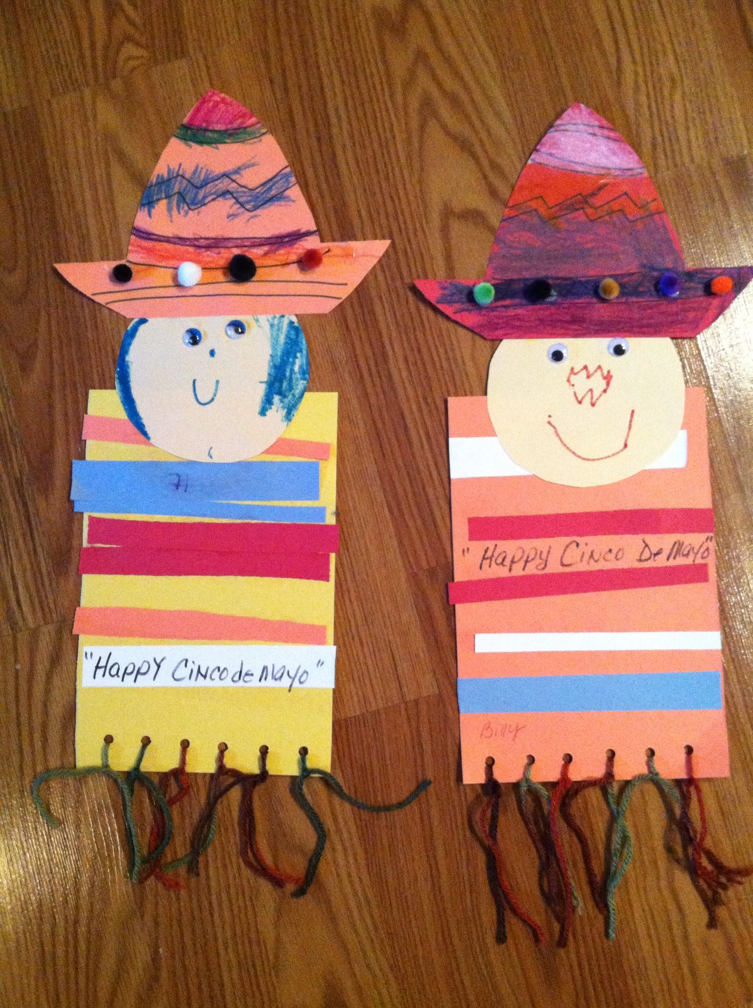 Cinco De Mayo Craft Could Turn This Into A Fun Foldable