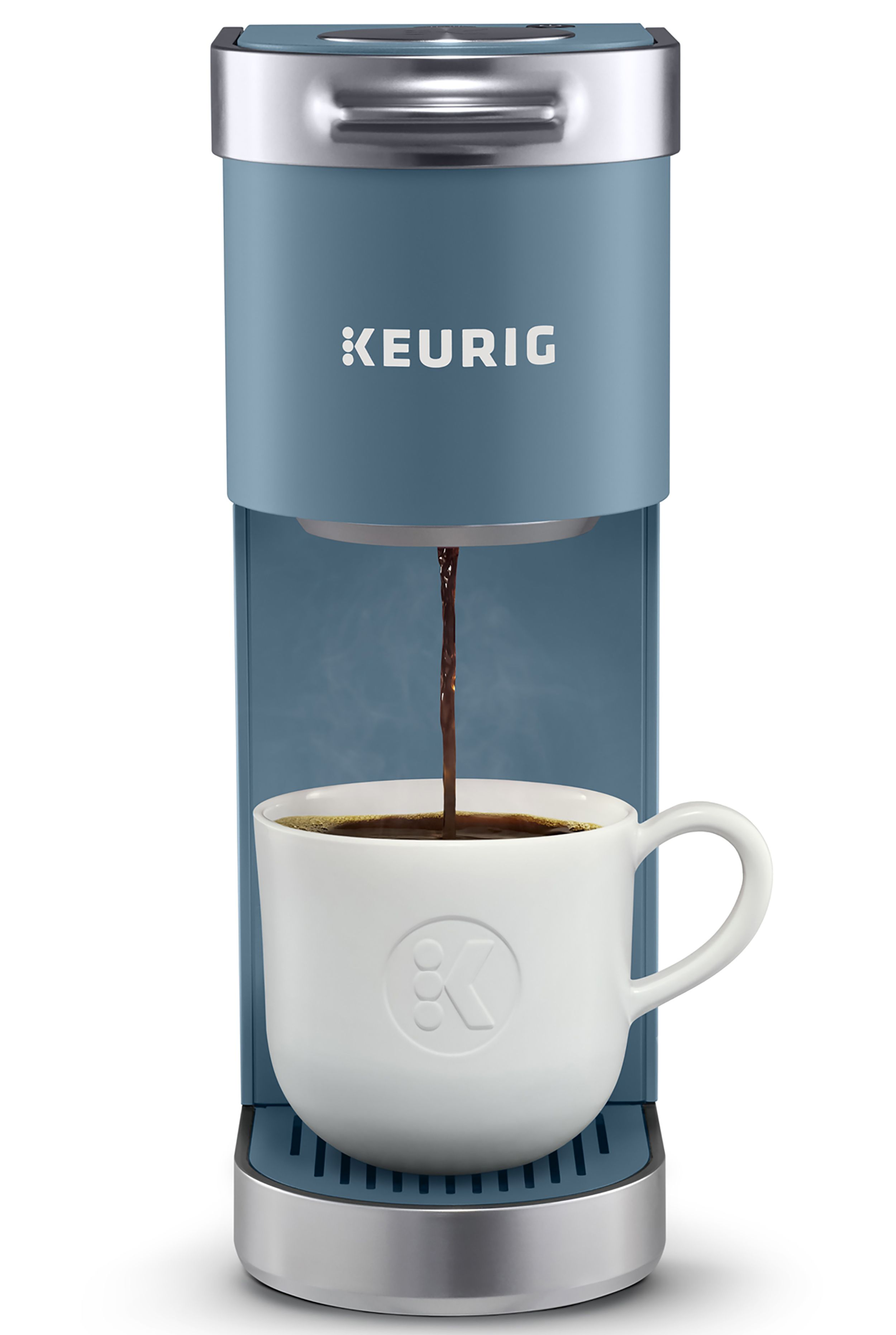 Keurig K Mini Plus Single Serve K Cup Pod Coffee Maker Evening Teal Walmart Com In 2020 Pod Coffee Makers Coffee Maker Single Serve Coffee Makers