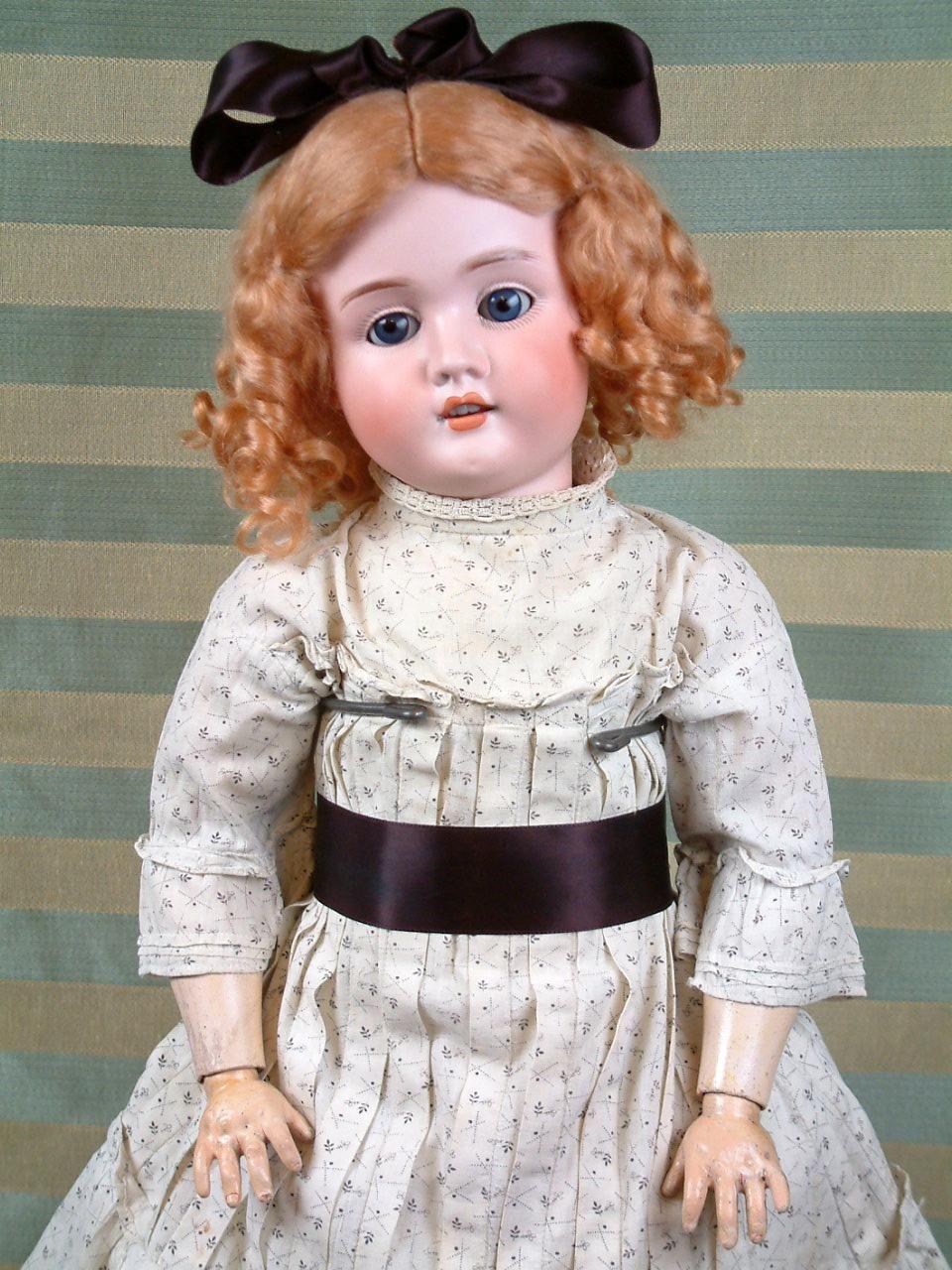 Фото старинных немецких кукол