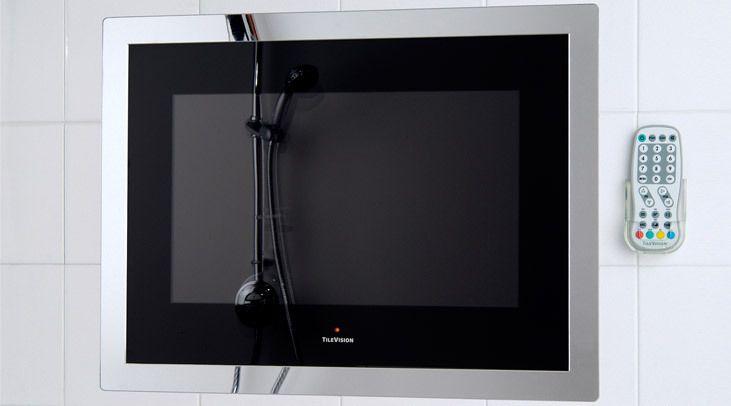 19inch Tilevision Waterproof Bathroom Tv Television 3 Colours Available Ebay Tv In Bathroom Bathroom Colours