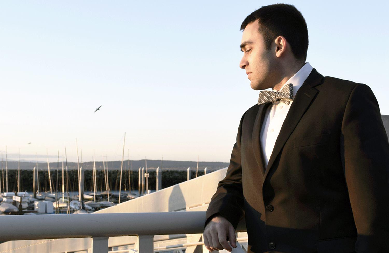 Sloane bow tie by handsome menswear handsomemenswear