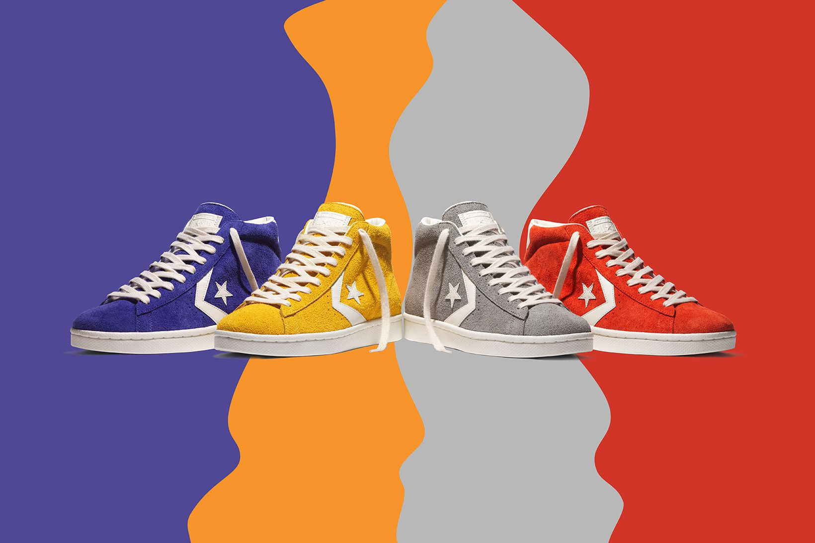 fa136974bbd Converse Celebrates 40 Years of the Pro Leather With New Vintage ...