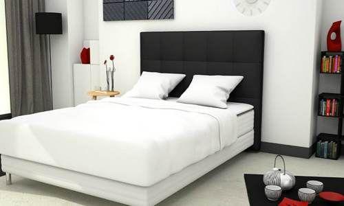 afficher l'image d'origine | bed & dream | pinterest | images - Chambre Avec Tete De Lit Capitonnee