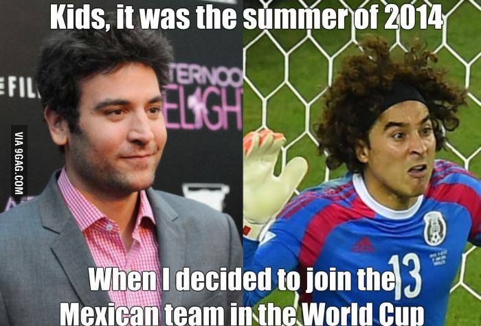 Kids, this is the story of how I played the 2014 World Cup
