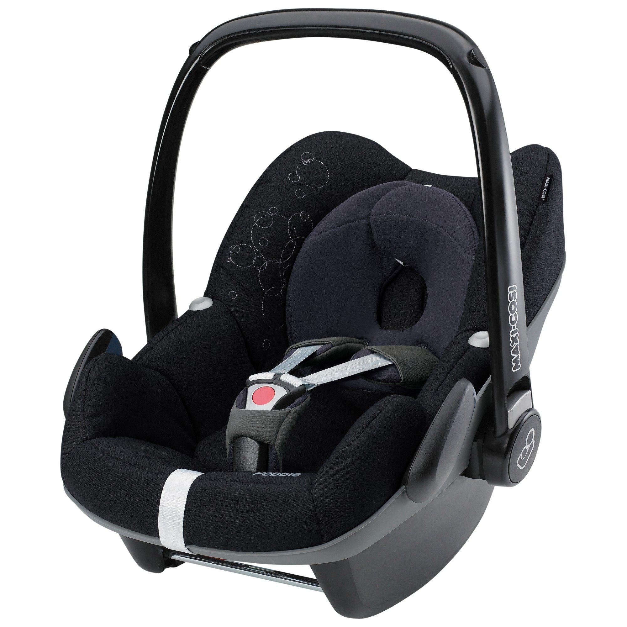 Maxi Cosi Pebble Group 0 Baby Car Seat Origami Black Baby Car Seats Car Seats Toddler Car Seat