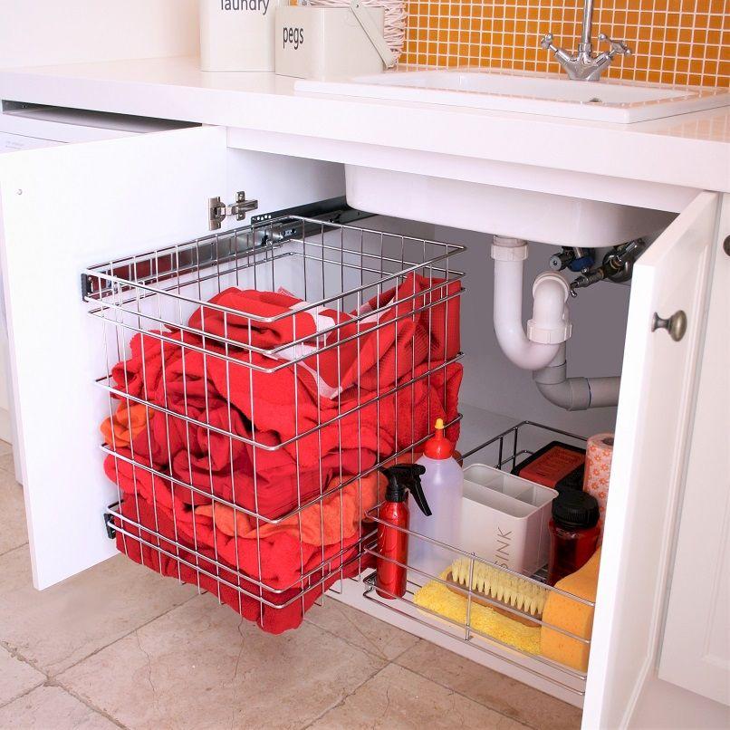 Laundry Bottom Mount Storage Tansel Storage Sink Storage Laundry Sink Under Sink Storage