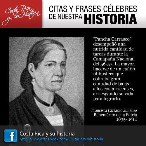 Francisca Pancha Carrasco Costa Rica Costa