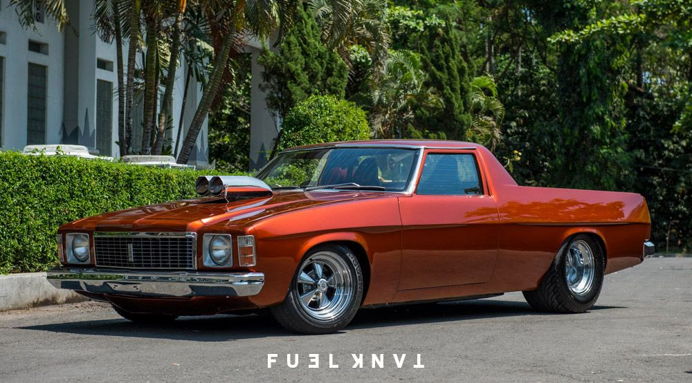 Custom Kingswood: Chopped & Tubbed 1975 Holden HJ Ute   Ute, Cars ...