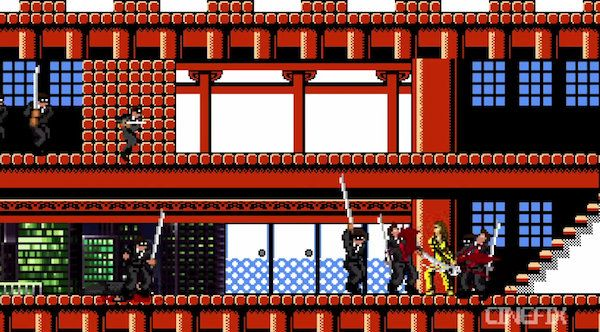 Cult Film 'Kill Bill' Reimagined As An 8-Bit Video Game - DesignTAXI.com