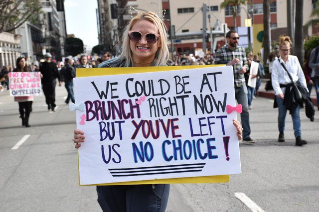 Photos Some Of Our Favorite Signs From The L A Women S March Laist Womens March Signs March Signs Womens March