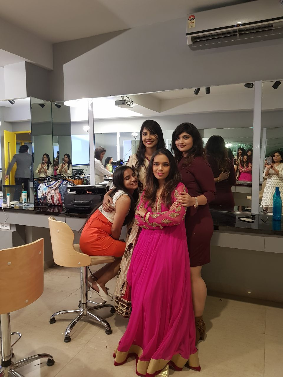 Bridal makeup courses in Hyderabad #Celebrity Makeup Artist Courses