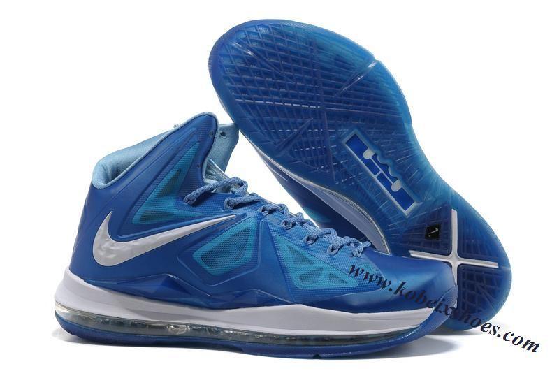 Nike Lebron 10(X) Blue Diamond