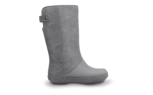 a8dc0e4dbd The Crocs Berryessa-Tall Suede Boot