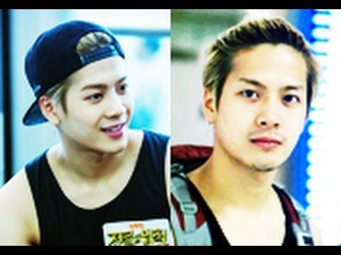 Got7 S Jackson Being Manly Or Cute Without Mustache And Beard Which Do You Like Got7 Jackson Jackson Wang Got7