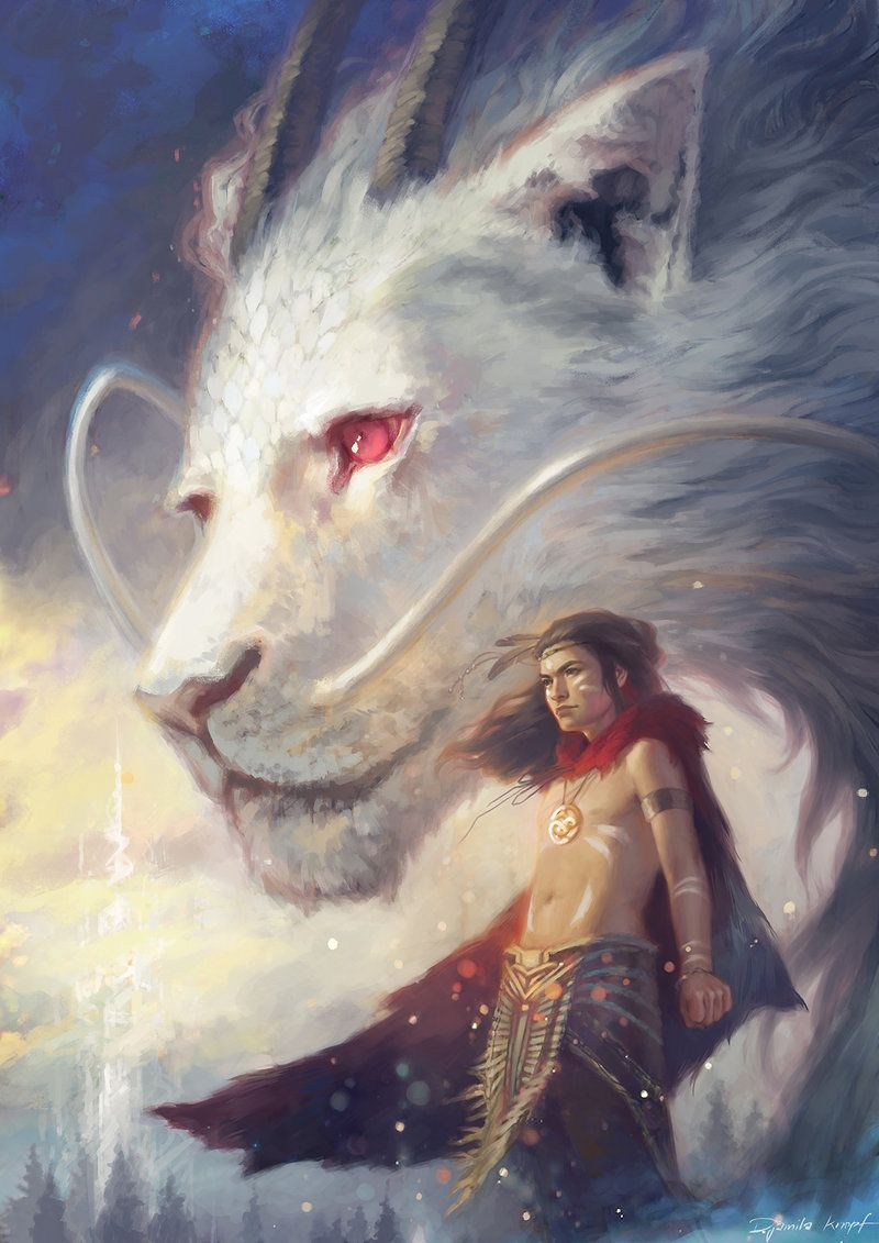 The Neverending Story By Djamila Knopf Fantasiewezens Fantasiepersonages Sprookjes