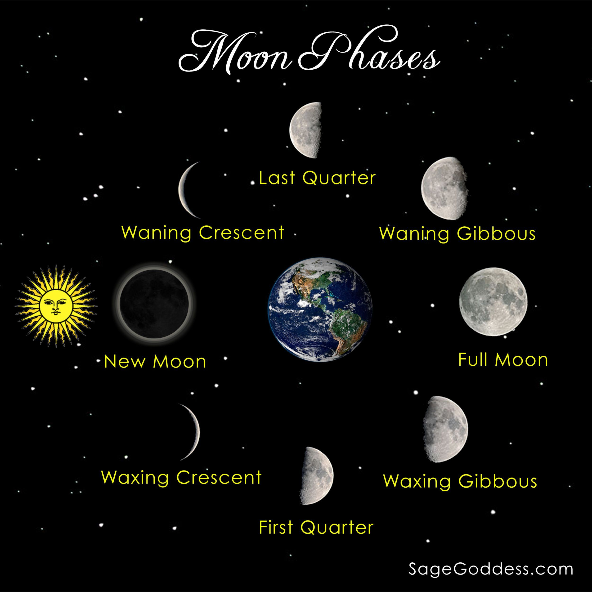 Diagram Of Moon Phases Printable Central Locking Wiring Golf 4 Image Result For Solar System New
