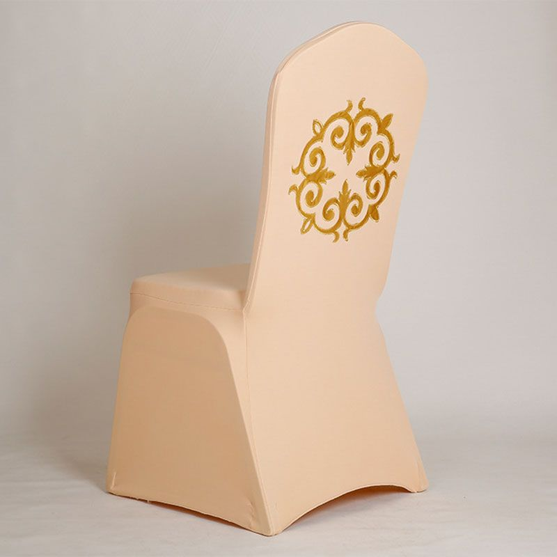 Gold Fleur De Lis Chair Cover Spandex dining chair cover stoelhoezen ...