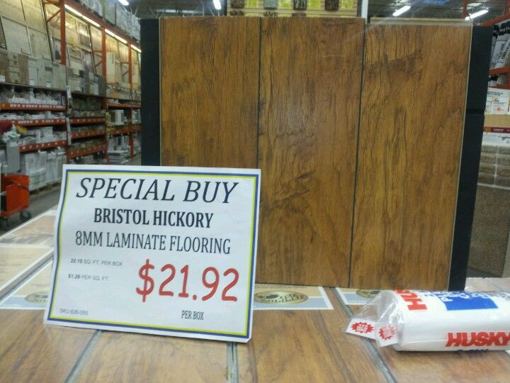 Home Depot On Laminate Flooring Bristol Hickory Good Deal Probably Purchasing This