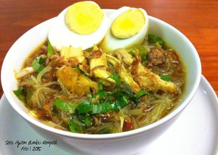 Resep Soto Ayam Bumbu Rempah Oleh Fitri Sasmaya Resep Resep Sup Resep Makanan Resep Masakan