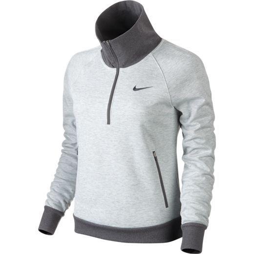 Nike Ladies Windblock 1 2 Zip Golf Jackets Black Summit White Dark Grey Women S Golf Tops Golf Outfit Womens Golf Fashion
