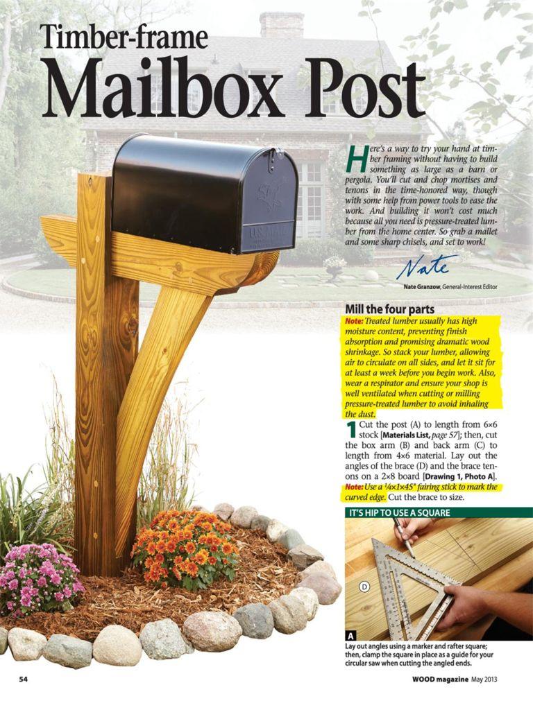 Cast stone mailbox post kit mailbox post the decorative make mailbox post outdoor plans solutioingenieria Gallery