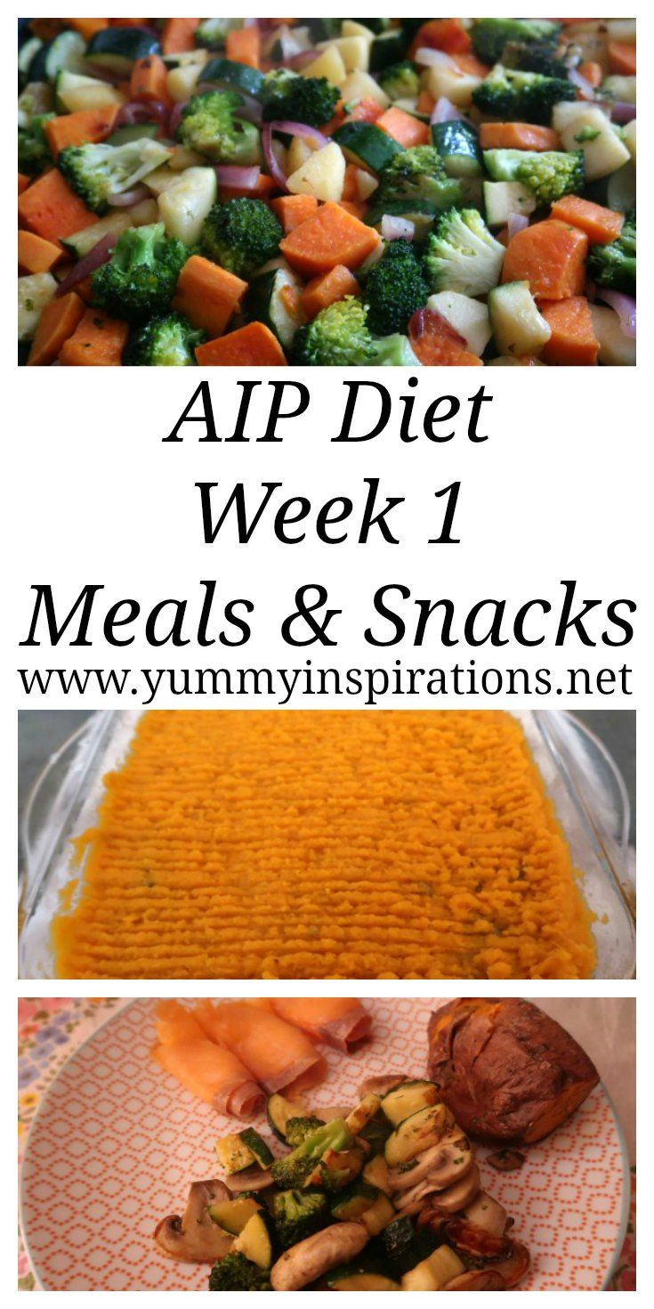AIP Diet Plan - Week 1 - Autoimmune Protocol Diet Recipes for Beginners