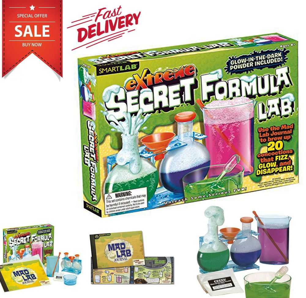 Extreme Toys Science Kit for Kids 7 8 9 10 Years Old Boys ...