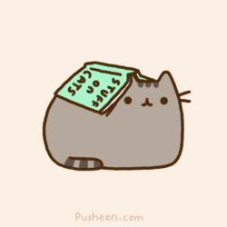 Stuff On Cats · Pusheen GifPusheen BookPusheen ...