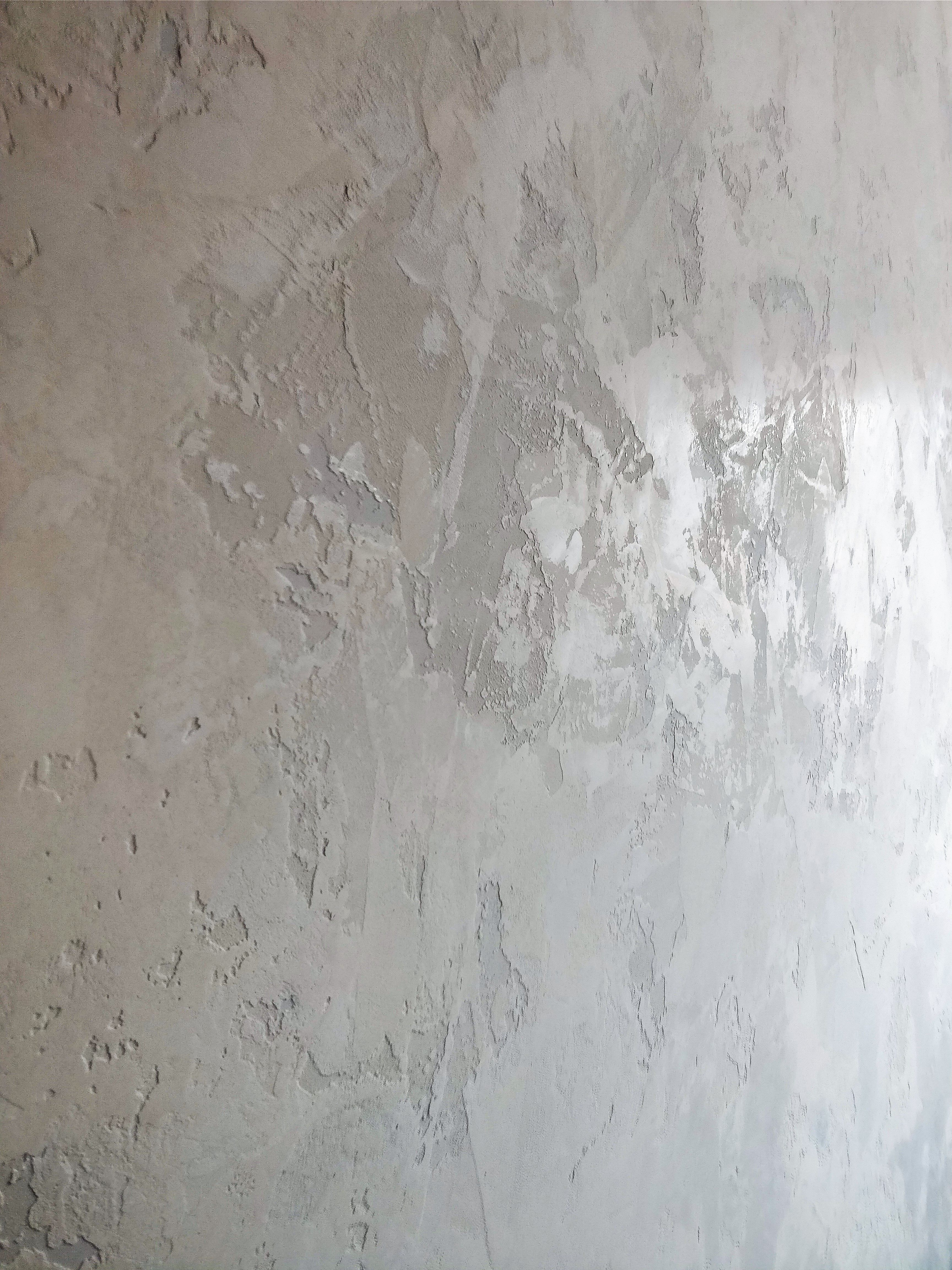 Italian Decorative Plaster Finish In White We Used Several Different