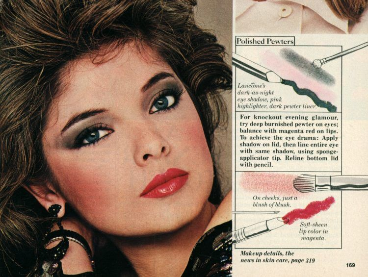 How To Get Hot Eighties Hair Makeup 1982 With Images