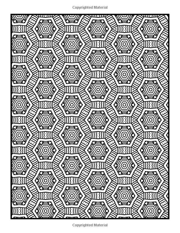Robot Check Pattern Coloring Pages Coloring Books Mandala Coloring Pages