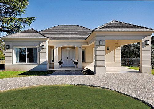 Vaccarezza tenesini angelone arquitectos casa 16 en for Fachadas de casas modernas tipo americano
