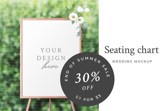 Wedding seating chart mockup by lena zakharova on creativemarket also sale rh pinterest