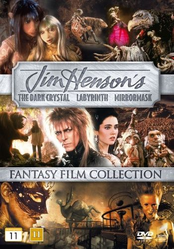 16,95€. Jim Henson Collection (3 disc)