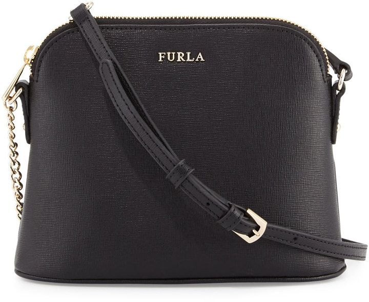 Furla Miky Chain Leather Crossbody Bag 822d3b29eb7cc