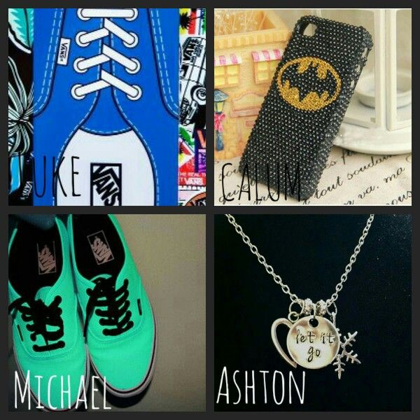 Your birthday present<3 i want the vans!!!1