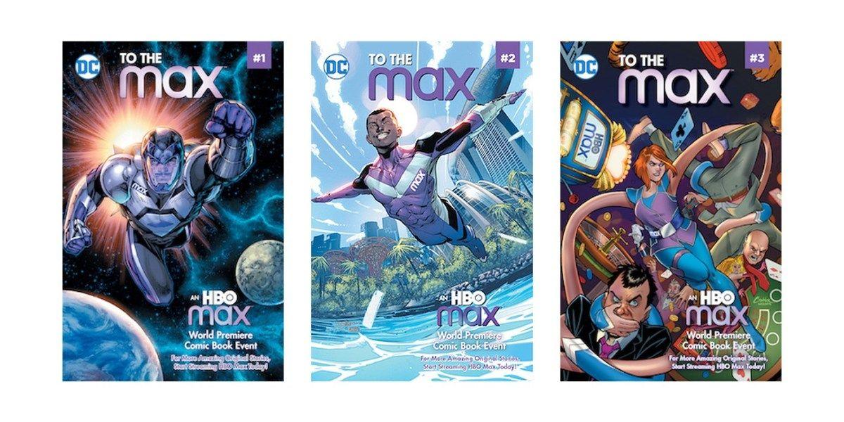 Dc hbo max announce new original digital comic series