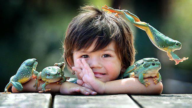 With Dinali Jayasinghe. Wildlife park, Australian native