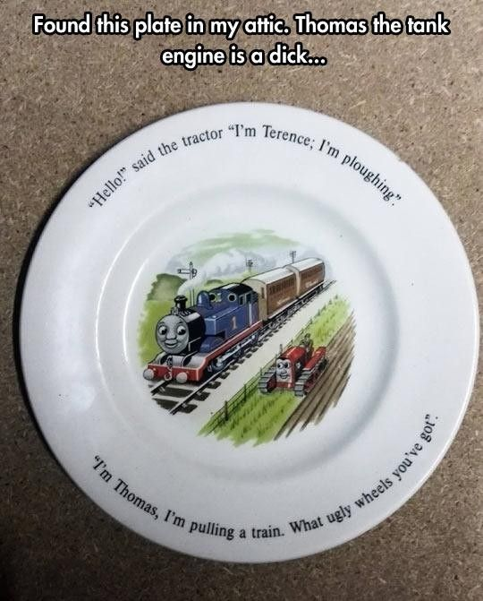 Thomas Is A D!ck http://ibeebz.com