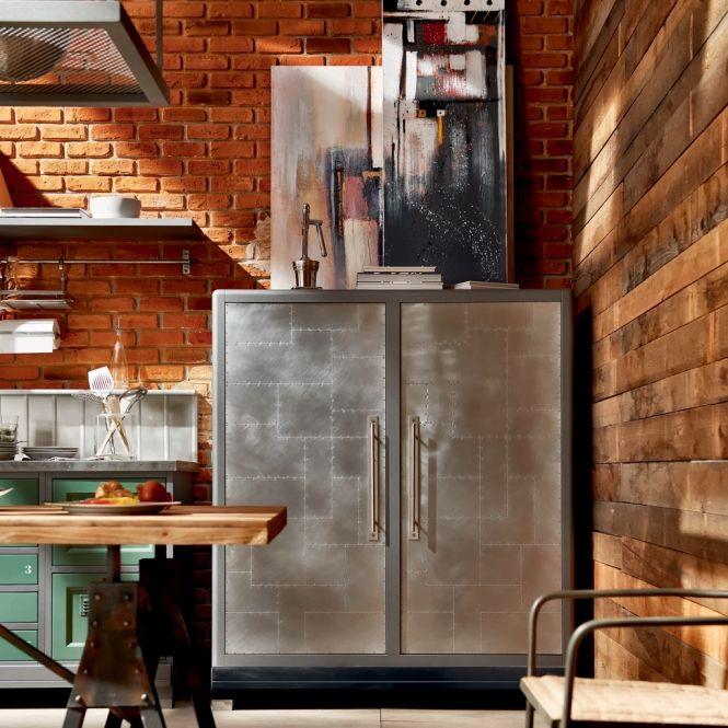 Vintage Loft Kitchen: Cozinha Vintage Loft Da Marchi Cucine No Arkpad - Arkpad