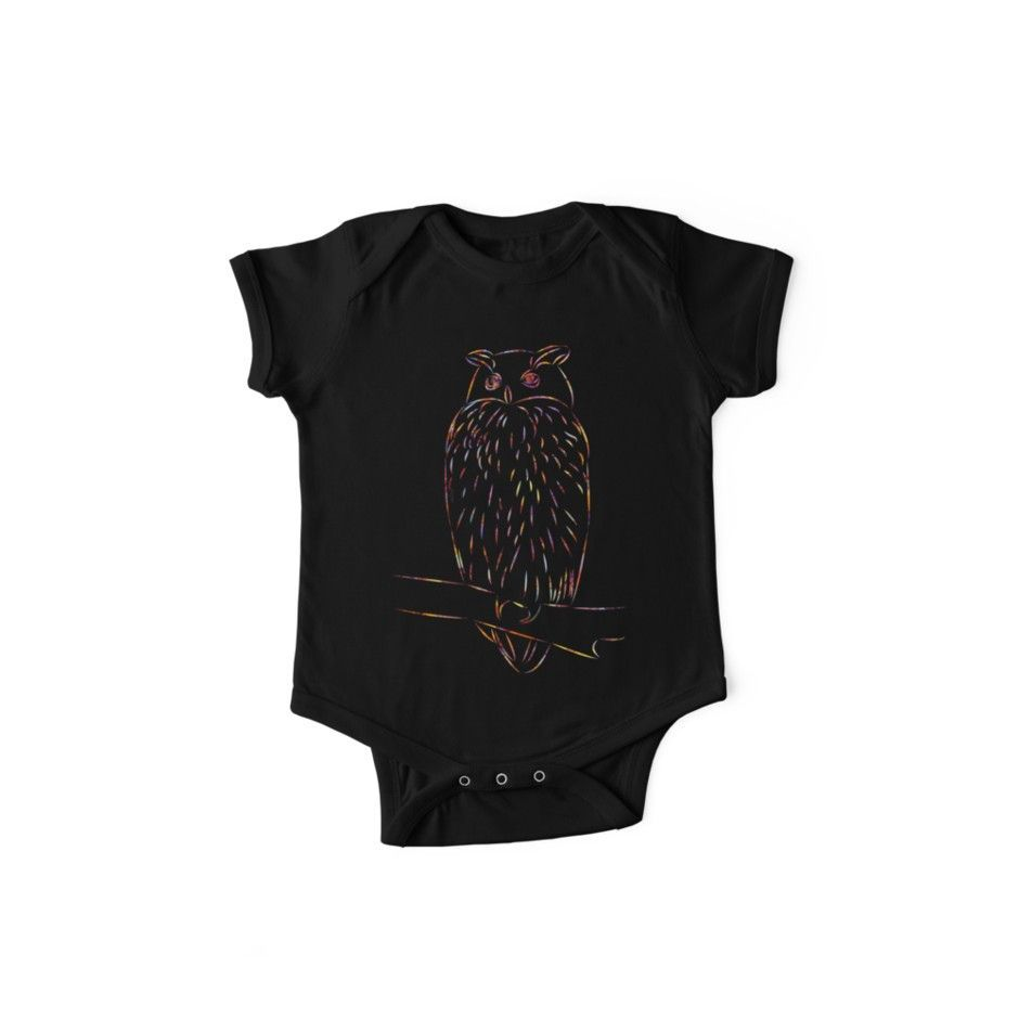 'Eagle owl / owl in autumn' Kids Clothes by rhnaturestyles        Trendige Mode …