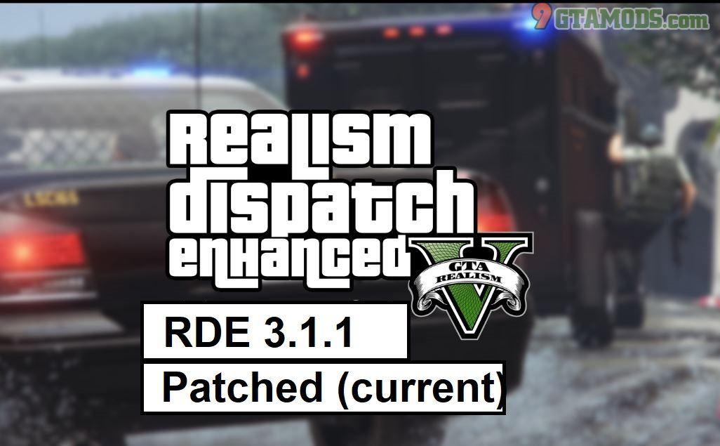 Realism Dispatch Enhanced Mod For Gta V 9gtamods Com Gta Realism Enhancement