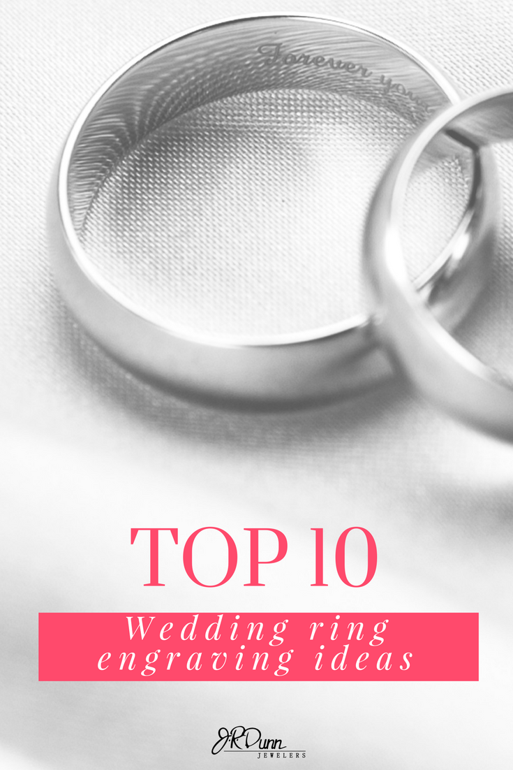 Top 10 Wedding Ring Engraving Ideas The Perfect Engagement In 2018