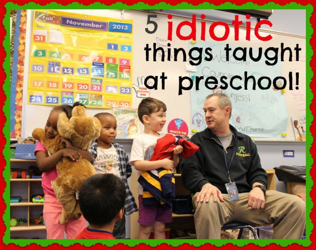 5 Things Children Learn At Preschool That Are A Waste Of
