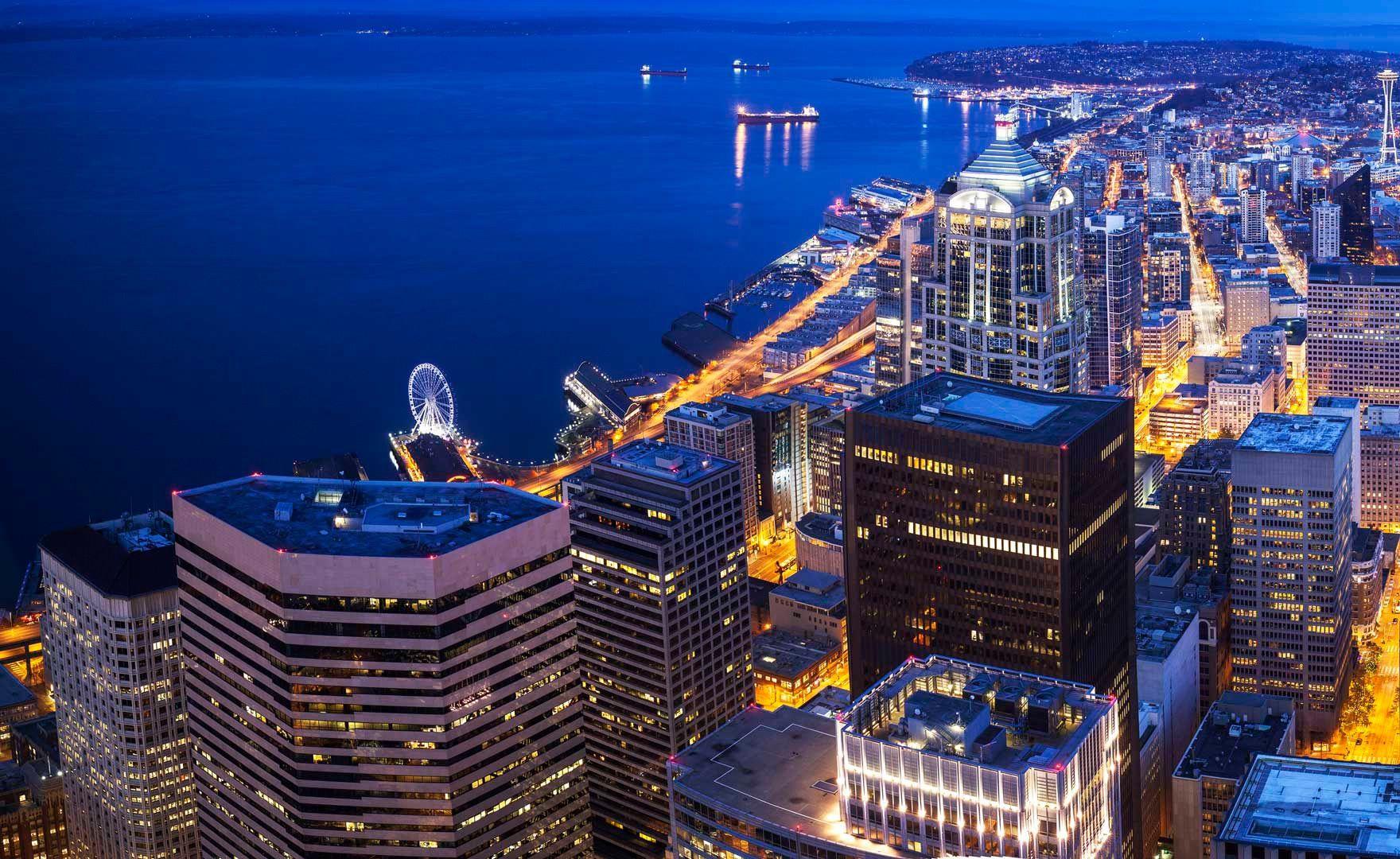 Sky View Observatory | Seattle | Sky view, Seattle, Seattle