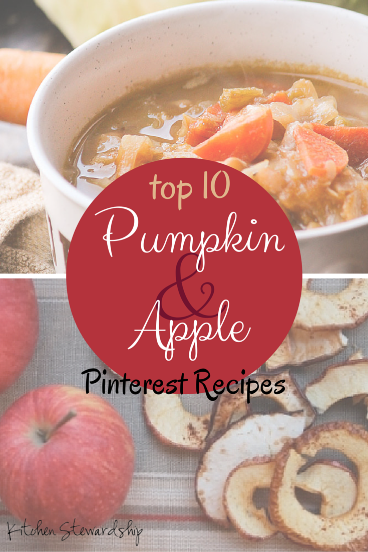 top 10 recipes on pinterest via kitchen stewardship - Kitchen Stewardship