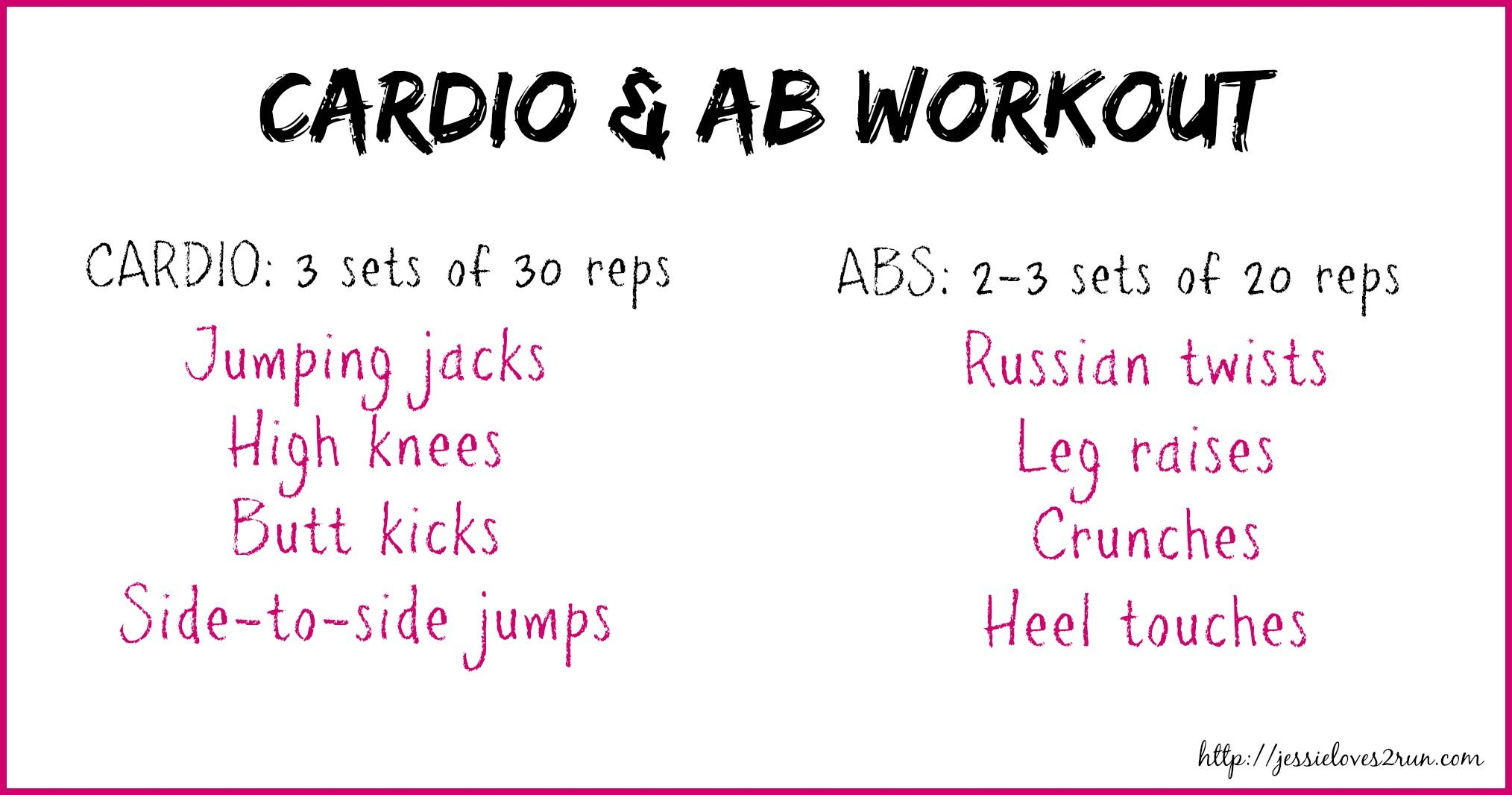 Cardio & Abs Workout #fitness #cardio #abs #workout #getfit #fitfluential #sweatpink
