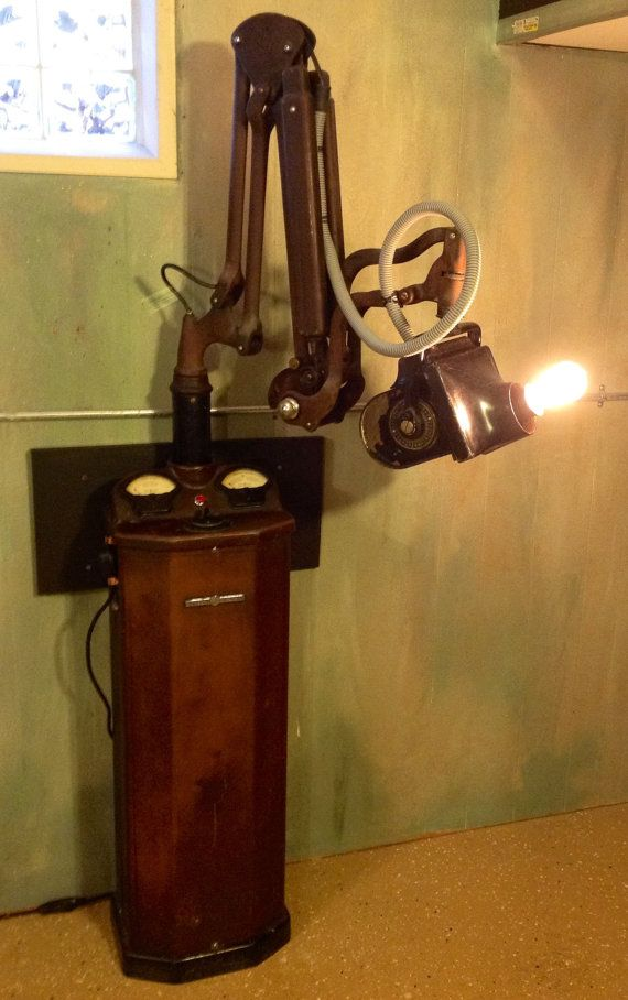 Museum Quality Antique Medical 1920 S Dental Xray By
