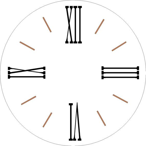 Magic image regarding roman numeral stencil printable